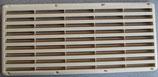 Kühlschrank Lüftungsgitter creme 365 x 167 Reiss Gitter Entlüftung
