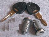 Zylinder 2x und 2 Schlüssel STS Zadi System Schließzylinder