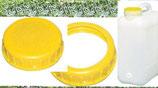 Wasserkanister 19 L Weithalskanister Deckel DIN 96 Kappe Ring Kanister