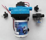 Wasserpumpe Carbest 12 V Druckwasser Pumpe 11,3 L