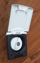 Einfüllstutzen Wasser Magnetverschluss weiß Deckel + 2 Schlüssel