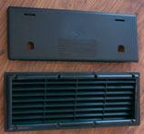 Kühlschrank Lüftungsgitter + Winterabdeckung Moskitonetz Gitter schwarz