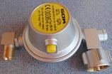 Gas Regler U - Form 30mbar 0,8kgh EN 61 GOK Wohnmobil Gasregler