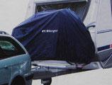 Fahrrad Schutzhülle Deichsel XL für Caravan 2 Räder, Bike Cover DUNKELBLAU