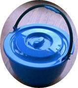 Eimer mit Henkel Deckel blau 14 L Mehrzweckeimer Spülen Geschirr