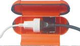 Sicherheitsbox Kabelsafe ROT für Schuko Stecker Box Dichtung Schutz