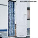 Flauschvorhang Chenille Vorhang 56x205 cm blau/hellblau/grau