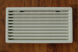 Kühlschrank Lüftungsgitter mit Rahmen groß cremeweiss Thetford