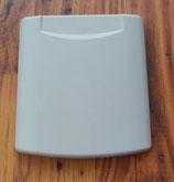 Ersatz Deckel mit Magnetverschluss Wassereinfüllstutzen / Einspeisestecker in HELLGRAU