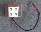 Schrankleuchte LED silber 0,5 W Garderobenlicht kleine Lampe Leuchte Türkontakt