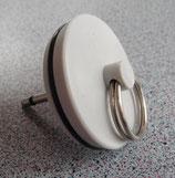 Ersatzstöpsel 35,5mm + Stift für Ablaufgarnitur Verschlussstopfen Spüle