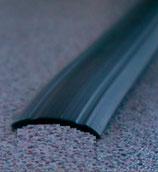 Gummiprofil 12mm 24 M.≙0,83€/M. Leistenfüller für Alu Profil schwarz