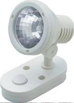 Leuchte Lampe Mini Spot weiß 12 V Aufbauspot 10 W Halogen