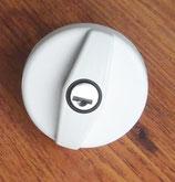 Ersatz Wasserdeckel WEISS Schloß +2 STS Schlüssel für Einfüllstutzen