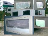 Seitz S 4 Ausstellfenster S 4 Fenster + Rollo 550 x 550 mm