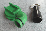 SOG Toilettenentlüftung Typ G 2. Anschluss für Thetford Cassette C500