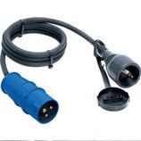 Adapterleitung Adapter Kabel CEE Stecker Adapterkabel 1,5 m