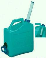 Safari Wasserkanister 15 L Deckel Ausgießer Kanister türkis Griff