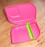 Vesper Brotbox aus 100% Zuckerrohr und Mineralien, plastikfrei, pink