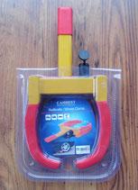 Radkralle rot gelb Rad Kralle Carbest Diebstahlschutz bis 260 mm