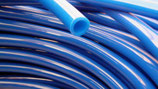 Wasserschlauch blau 10mm ohne Gewebe pro Meter für Tauchpumpen