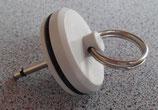 Ersatzstöpsel 31,2mm + Stift für Ablaufgarnitur Verschlussstopfen Spüle Siphon