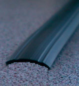 Gummiprofil 12mm≙0,29€/M. f Schiene 200m Profil Leistenfüller schwarz