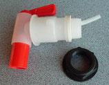 Auslaufhahn 3/4 Zoll 20mm Ablasshahn für Wasser Kanister Hahn