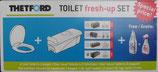 Thetford Fresh-Up-Set C400 Cassette Tank mit Räder Deckel Angebot