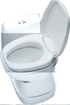 Thetford Toilettensitz NUR Brille + Deckel für Toilette C200