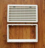 Kühlschrank Lüftungsgitter mit Rahmen mittel cremeweiß Thetford