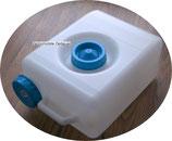 Wasserkanister Din 96 Kanister 15 L Abwassertank 2 Öffnungen Deckel