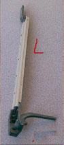 Fenster Aufsteller 23 links Halter Aussteller zum schrauben Riegel