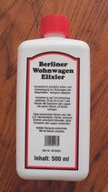 Berliner Wohnwagen Elixier 500ml ≙18,98€/L. Reiniger