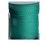Spannleine 50 m / 3mm≙0,18€/M. PP Schnur Zelt Leine Schnur grün