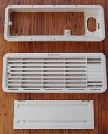 Entlüftung oben Kühlschrank Electrolux Lüftungsgitter weiß LS100