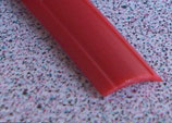 Gummiprofil 12mm 24m ≙0,83€/M. für Schiene Profil Leistenfüller rot