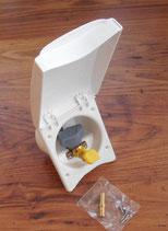 Gas Sicherheits Steckdose für aussen Truma Gassteckdose weiß