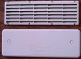Kühlschrank Lüftungsgitter Gitter + Moskitonetz + Winterabdeckung in lichtgrau