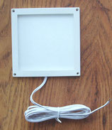Leuchte Dometic 10 x 10 cm Rahmen weiß LED 12V 3W 140L Aufbau
