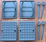Stützplatten Set 4 St.≙2,60€/Stk. Jumbo Foot für Wohnwagen Kurbelstütze