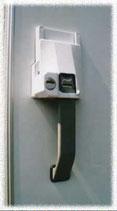 HEOSafe Türsicherung für Außenschloss Schloss POS mit 2 Schlüsseln