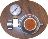 Gas Sicherheits Regler 1,5kgh Manometer Wohnmobil 50mbar