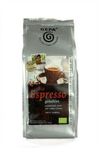 Bio Espresso gemahlen