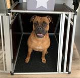 AnimalMat die Unterlage in Transportboxen, Hundeboxen, Futterstelle, Hundehütte, Zwinger, Schlafstelle u. a.