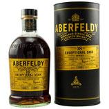 Aberfeldy - 18  Jahre - Bourbon Casks, Sherry Casks (Finish) - Exceptional Cask Series Highland Single Malt Scotch Whisky - 53,3% vol.
