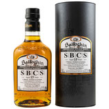 Ballechin - 15 Jahre - SBSC =  Small Batch Cask Strength - 1st Release – 1st Fill Bourbon Barrels, 2nd Fill Oloroso Sherry Butts - Exclusive to Germany - 59,4% vol. Cask Strength