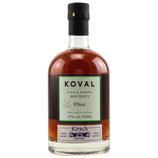 Koval - Single Barrel Wheat Whiskey - Distillery Limited Edition - 47% vol.
