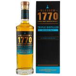 1770 Glasgow - Single Malt Scotch Whisky - Triple Distilled - Release No. 1 - 46% vol.