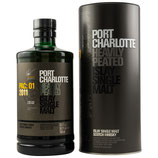 Port Charlotte - Heavily Peated - PAC 01 - 2011 - Cask: French Red Wine Finish - 56,1% vol.
